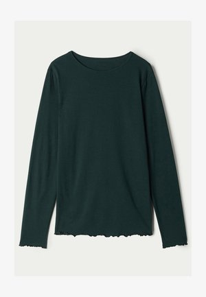 Pyjama top - grun - 036u - pine green