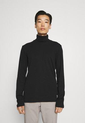 LONG SLEEVE TURTLE NECK - T-shirt à manches longues - black
