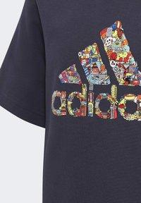 adidas Performance - CLEOFUS T-SHIRT - Print T-shirt - blue - 2