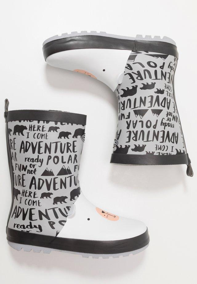 POLAR - Stivali di gomma - grey