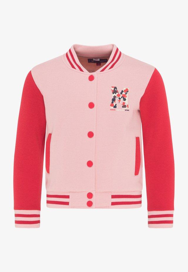 Bomber Jacket - rosa rot