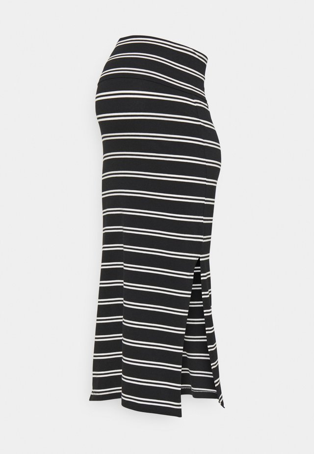 MLSIA SKIRT - Blyantnederdel / pencil skirts - black/snow white