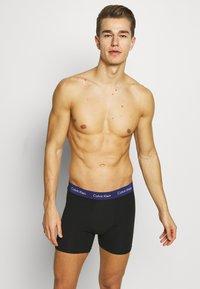 Calvin Klein Underwear - BOXER BRIEF 3 PACK - Pants - black - 0