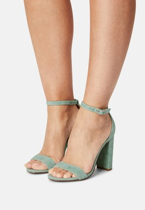 CARRSON - High heeled sandals - mint green
