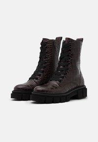 Kennel + Schmenger - VIDA - Platform ankle boots - braun - 2