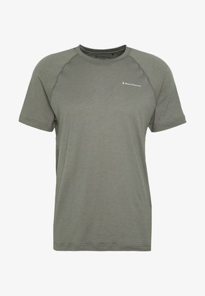 RHYTHM TEE - T-shirt imprimé - nickel