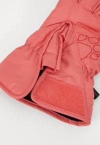 Jack Wolfskin - EASY ENTRY GLOVE KIDS - Gloves - coral/pink - 3