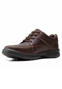 Clarks - BRADLEY WALK - Trainers - brown tumb - 1