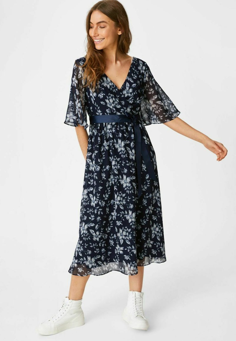 C&A - Day dress - dark blue
