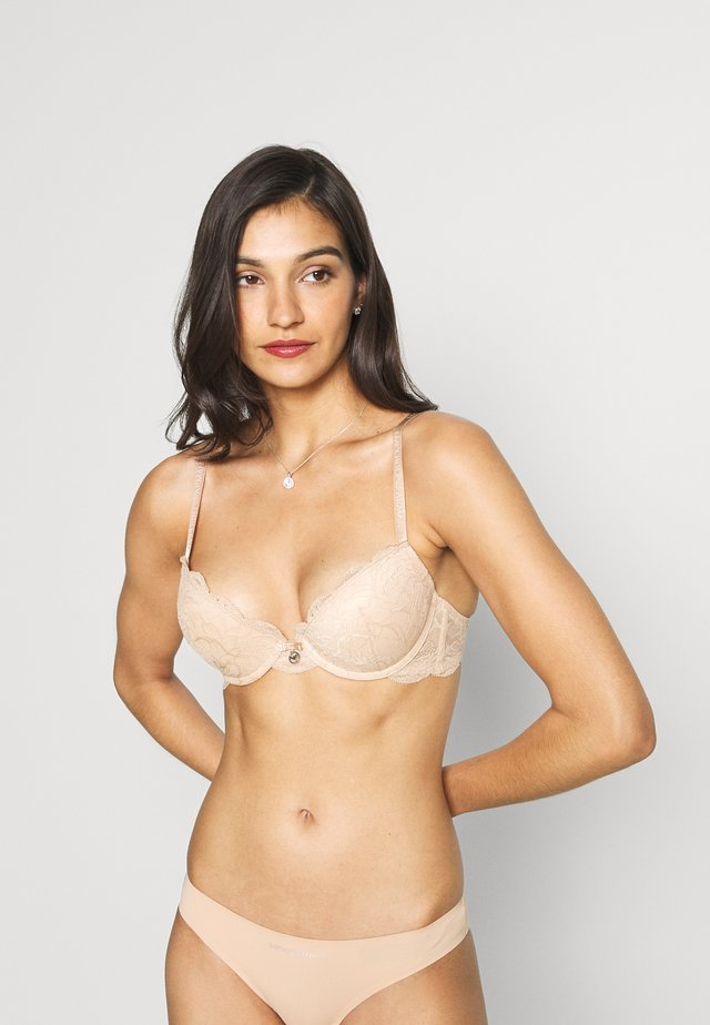 NATURAL BRA - Push-up podprsenka - beige