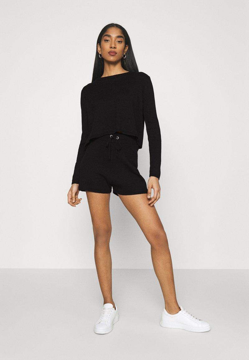 Even&Odd - SET - Pullover - black