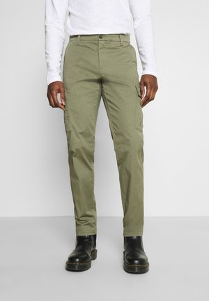 SMART TECH  - Cargo trousers - deep lichen green