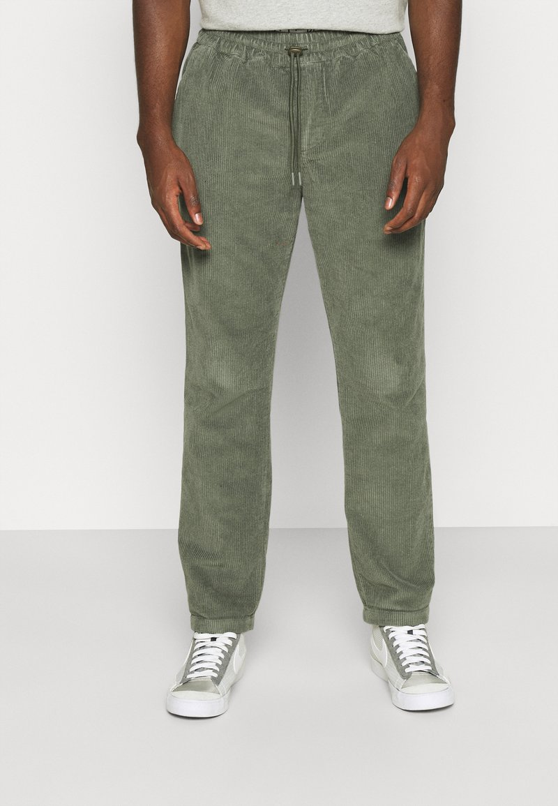 REVOLUTION - CASUAL TROUSERS - Trousers - army
