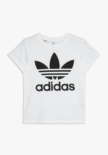 TREFOIL - Camiseta estampada - white/black