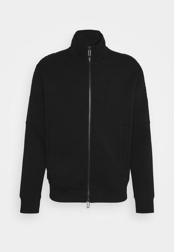 Sweat à capuche zippé - black