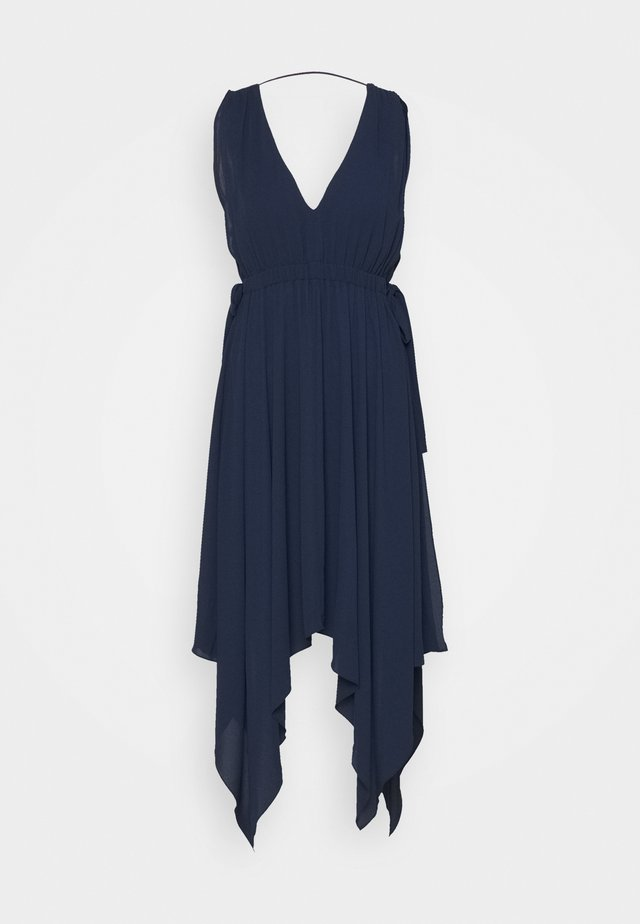 DAY LONG DRESS - Cocktailjurk - navy
