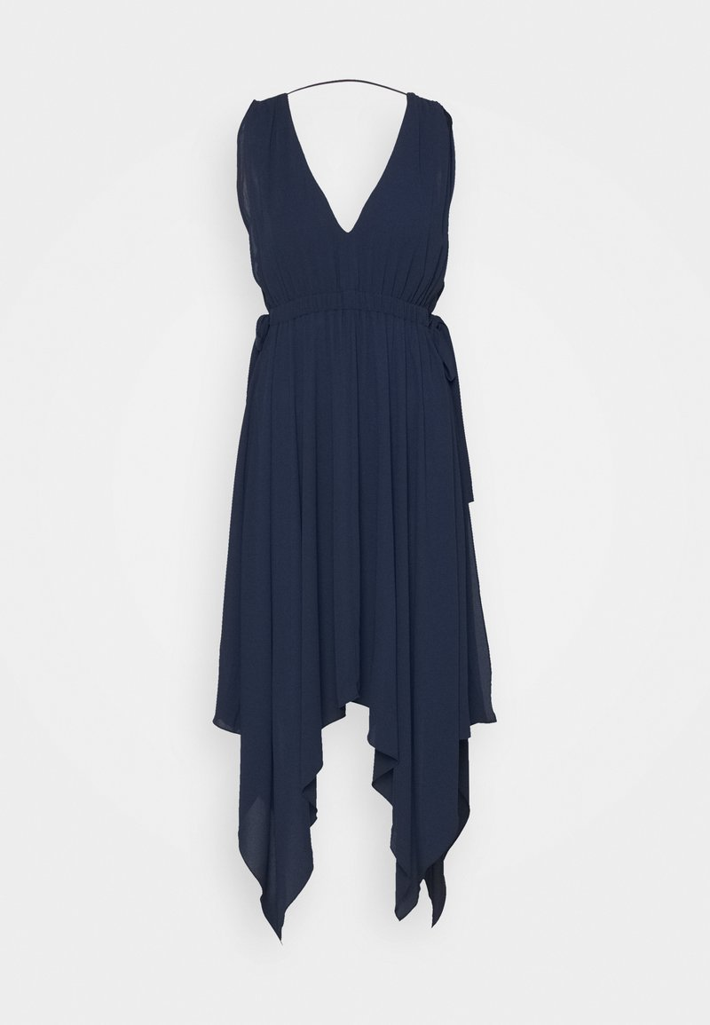 BCBGMAXAZRIA - DAY LONG DRESS - Koktejlové šaty / šaty na párty - navy