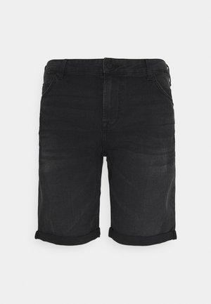 ONSPLY LIFE - Jeansshorts - black denim
