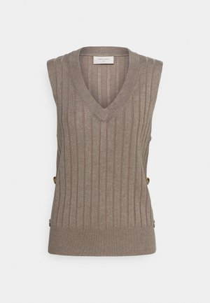 JONEY - Jumper - beige sand melange