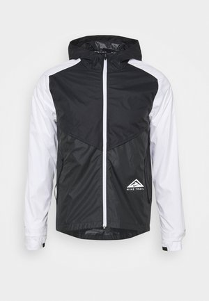 TRAIL WINDRUNNER  - Juoksutakki - black/smoke grey/white