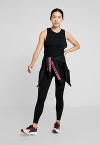 Cotton On Body - SEAMFREE MUSCLE TANK - Toppe - black - 1