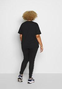 Fila Plus - EARA TEE - T-shirt basic - black - 2
