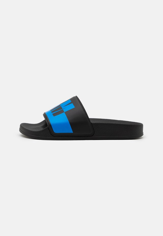 UNISEX - Pantofle - black/blue