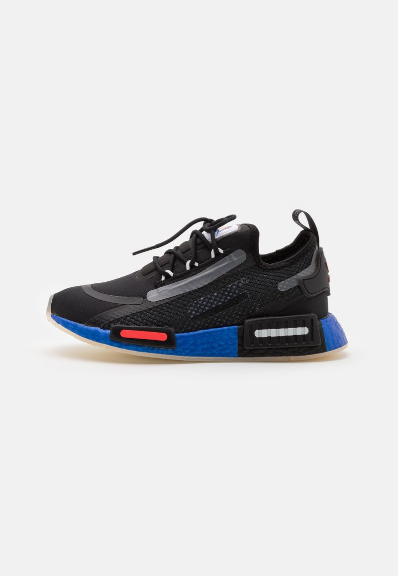 adidas Originals - NMD_R1 SPEEDLINES BOOST SHOES - Trainers - core black/solar red