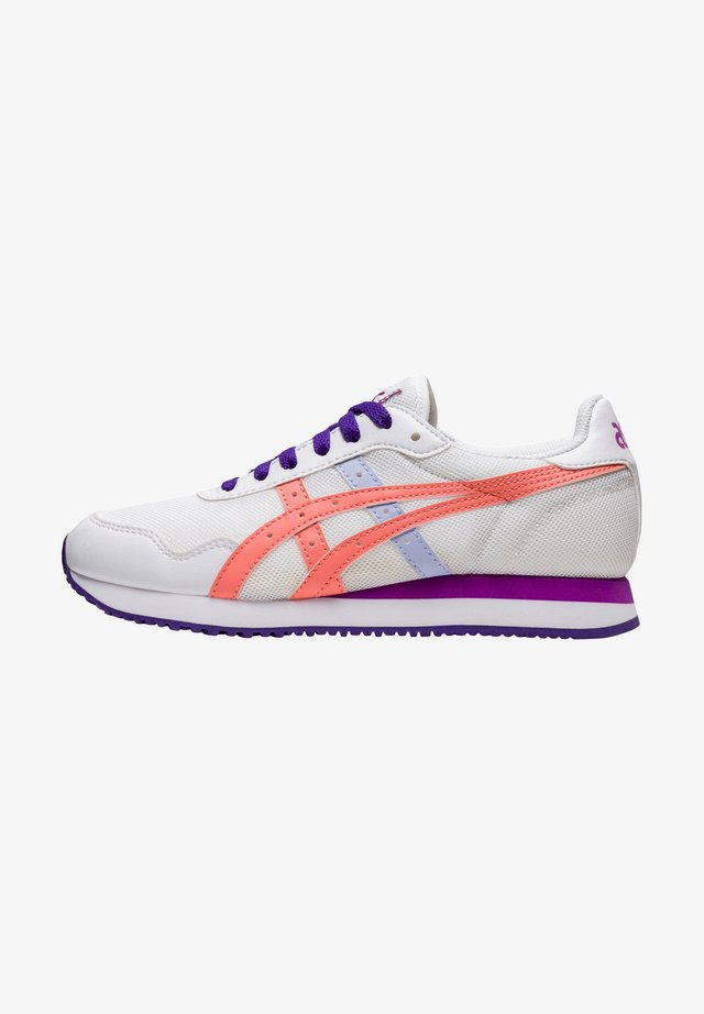 TIGER RUNNER GS - Sneakers laag - white guava