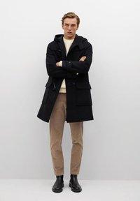 Mango - FARO - Short coat - zwart - 1