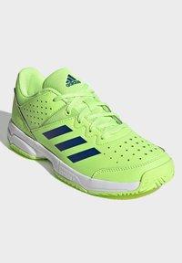 adidas Performance - COURT STABIL UNISEX - Handball shoes - siggnr/royblu/ftwwht - 2