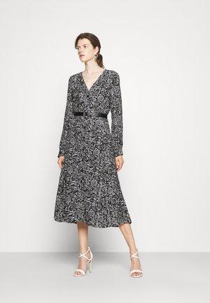 FLORAL KATE - Day dress - black/white