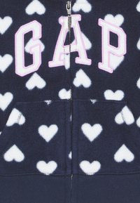 GAP - TODDLER GIRL LOGO - Forro polar - navy uniform - 2