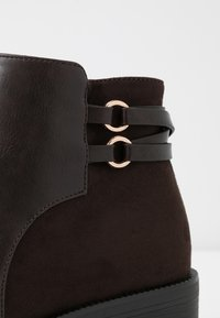 Anna Field Wide Fit - Ankle boots - brown - 2