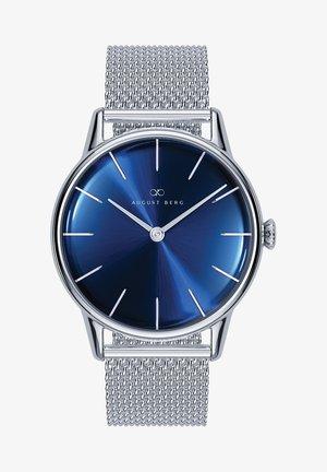QUARZUHR SERENITY DEEP BLUE SILVER SILVER MESH 32MM - Watch - sunray blue