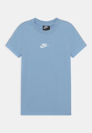 REPEAT - Print T-shirt - light blue