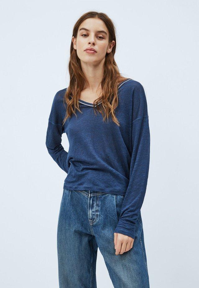 LUCY - Langærmede T-shirts - ocean