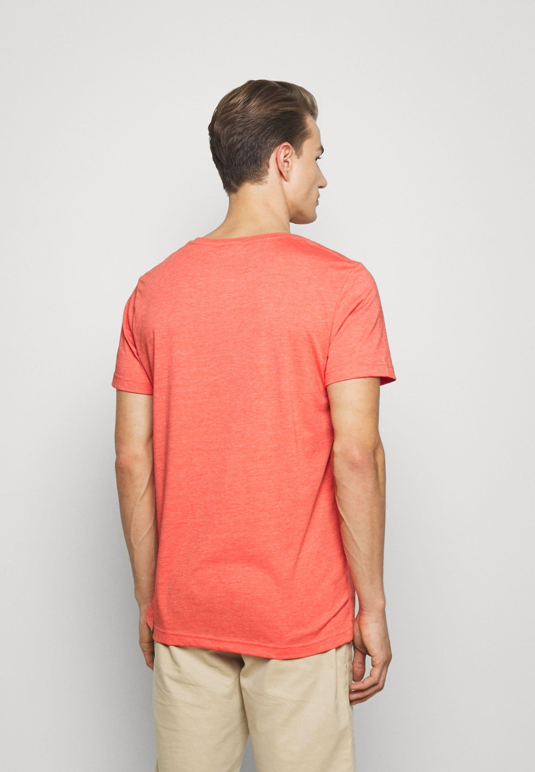 Ragwear NEDIE - Basic T-shirt - coral Daeg7