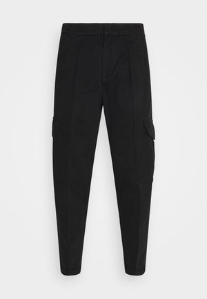 JACOB PANTS - Cargo trousers - black