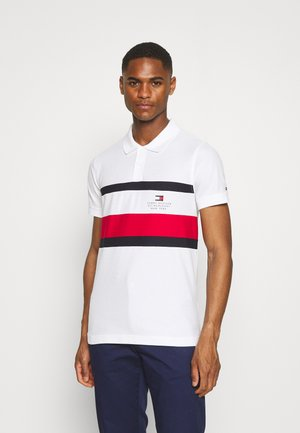 CHEST STRIPE  - Poloshirt - white