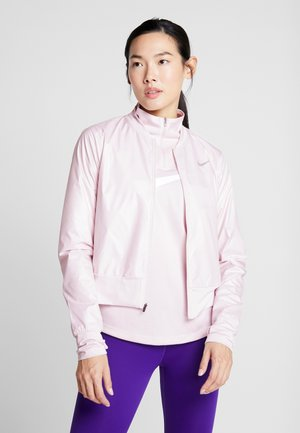 Běžecká bunda - barely rose
