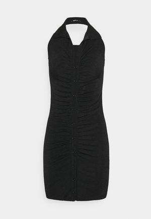 DOLLY HALTERNECK DRESS - Vestito elegante - black
