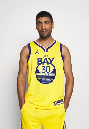 NBA GOLDEN STATE WARRIORS STEPH CURRY SWINGMAN - Club wear - amarillo/white/rush blue