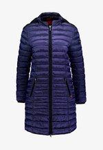 FUNCTIONAL FILLED - Zimní kabát - smooth blue