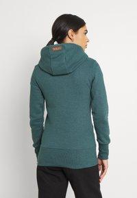 Ragwear - NESKA ZIP - Zip-up sweatshirt - dark green - 2