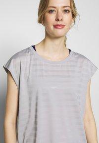 Even&Odd active - Print T-shirt - grey - 4