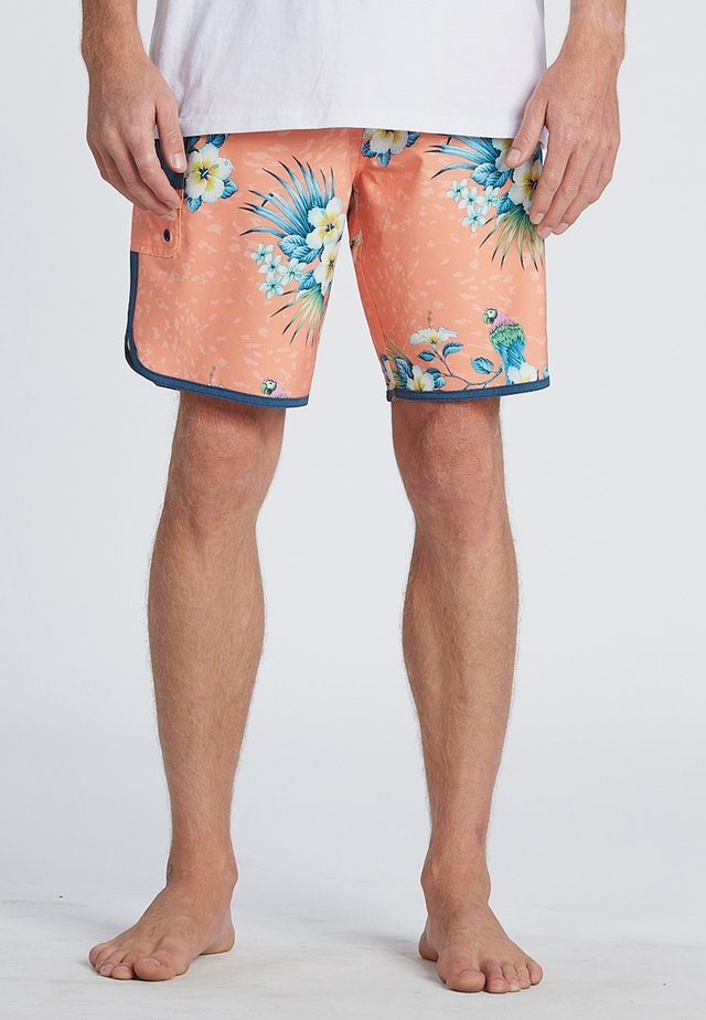 "73 LINE UP PRO 19""  - Swimming shorts - neon melon"