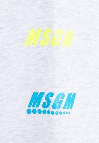 MSGM - FELPA - Hoodie - mottled light grey - 4
