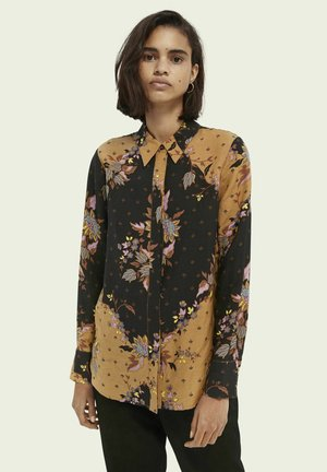RELAXED-FIT PRINTED - Button-down blouse - combo m