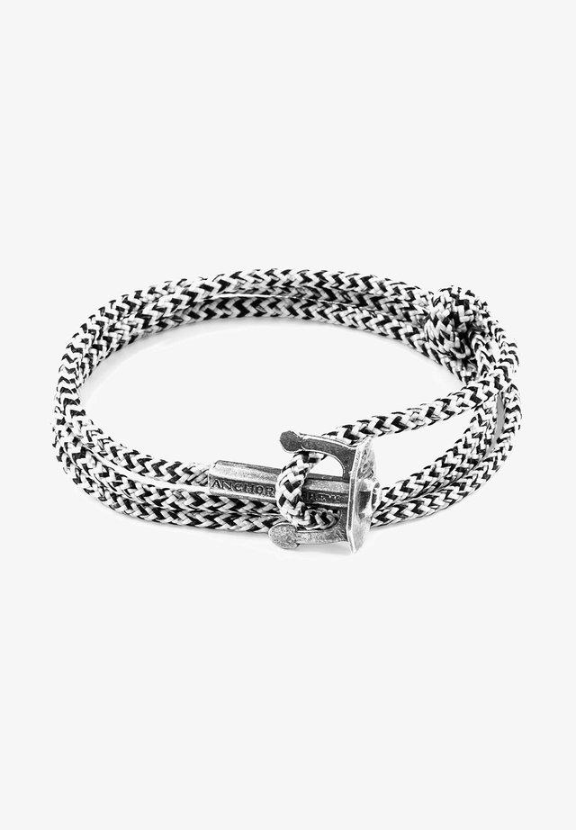 UNION - Armband - white/black